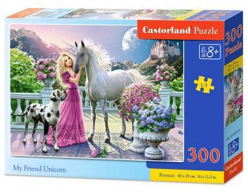My Friend Unicorn - Puzzle - 300 Teile · CAS 030088 ·  Castorland