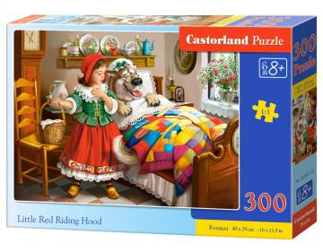 Little Red Riding Hood,Puzzle - 300 Teile · CAS 030118 ·  Castorland