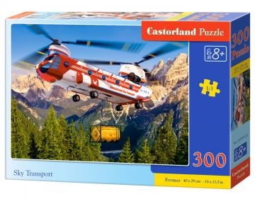 Sky Transport, Puzzle - 300 Teile · CAS 030125 ·  Castorland