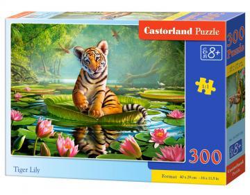Tiger Lily - Puzzle - 300 Teile · CAS 030156 ·  Castorland