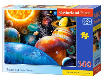 Planets and their Moons - Puzzle - 300 Teile · CAS 030262 ·  Castorland