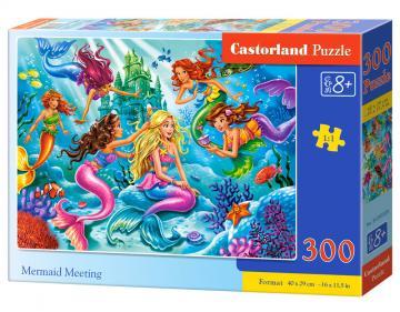 Mermaid Meeting - Puzzle - 300 Teile · CAS 030309 ·  Castorland