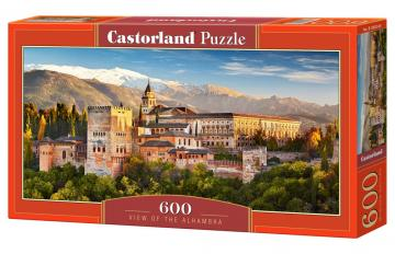 View of the Alhambra - Puzzle - 600 Teile · CAS 030344 ·  Castorland