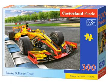 Racing Bolide on Track - Puzzle - 300 Teile · CAS 030347 ·  Castorland