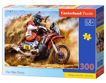 Dirt Bike Power - Puzzle - 300 Teile · CAS 030354 ·  Castorland