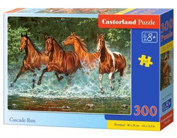 Cascade Run - Puzzle - 300 Teile · CAS 030361 ·  Castorland