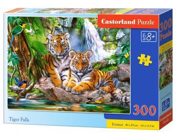 Tiger Falls - Puzzle - 300 Teile · CAS 030385 ·  Castorland