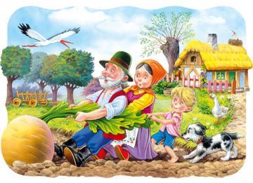 Big Turnip, Puzzle 30 Teile · CAS 03242 ·  Castorland