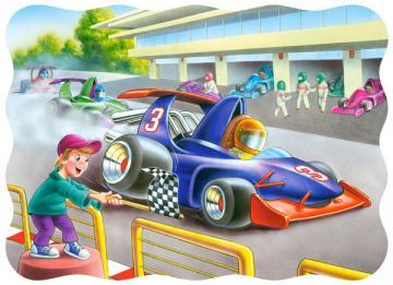 Speed Masters, Puzzle 30 Teile · CAS 033651 ·  Castorland