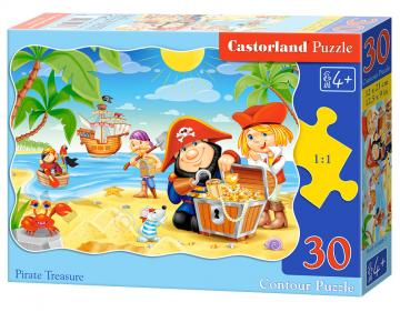 Pirate Treasure, Puzzle 30 Teile · CAS 03488 ·  Castorland