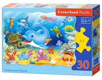 Underwater Friends - Puzzle - 30 Teile · CAS 035011 ·  Castorland
