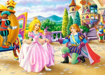 Cinderella, Puzzle 35 Teile · CAS 035045 ·  Castorland