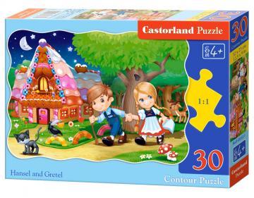 Hansel and Gretel - Puzzle - 30 Teile · CAS 035321 ·  Castorland