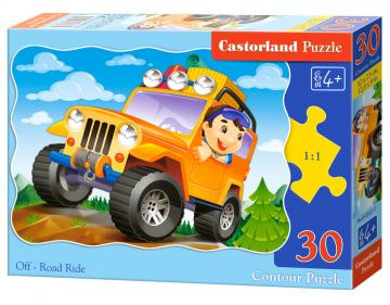 Off-Road Ride - Puzzle - 30 Teile · CAS 036311 ·  Castorland