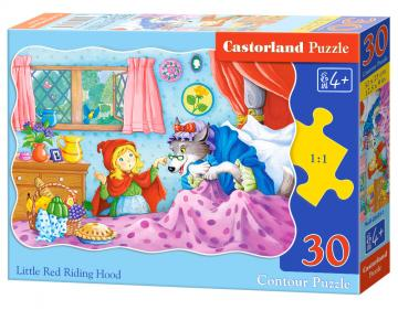 Little Red Riding Hood - Puzzle - 30 Teile · CAS 036551 ·  Castorland