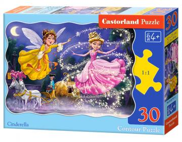 Cinderella - Puzzle - 30 Teile · CAS 037471 ·  Castorland