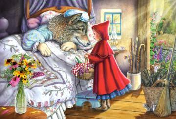 Red Riding Hood,Puzzle 40 Teile maxi · CAS 040070 ·  Castorland