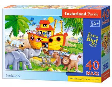 Noah´s Ark, Puzzle - 40 Teile Maxi · CAS 0402091 ·  Castorland