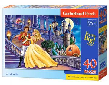 Cinderella - Puzzle - 40 Teile maxi · CAS 0402541 ·  Castorland