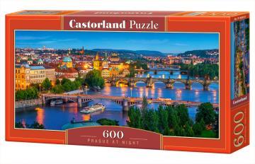 Prague at Night - Puzzle - 600 Teile · CAS 060061 ·  Castorland