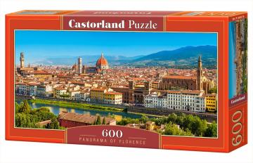 Panorama of Florence - Puzzle - 600 Teile · CAS 060078 ·  Castorland
