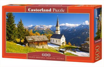 Church Marterle,Carinthia,Austria,Puzzle 600 Teile · CAS 060153 ·  Castorland