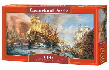 Battle at thr Sea - Puzzle - 600 Teile · CAS 060252 ·  Castorland