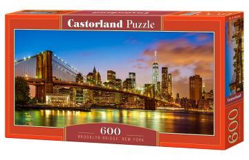 Brooklyn Bridge,New York - Puzzle - 600 Teile · CAS 060399 ·  Castorland