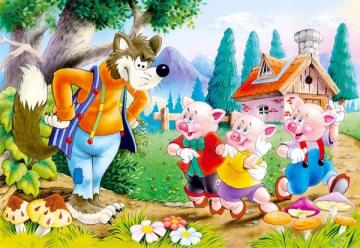 Three Little Pigs - Puzzle - 60 Teile · CAS 065191 ·  Castorland