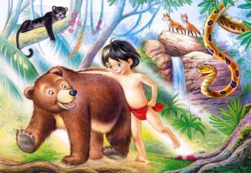 Jungle book, Puzzle 60 Teile · CAS 06564 ·  Castorland