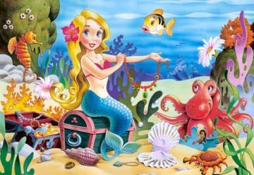 Little Mermaid, Puzzle 60 Teile · CAS 06588 ·  Castorland