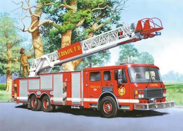 Fire Engine - Puzzle - 60 Teile · CAS 065951 ·  Castorland