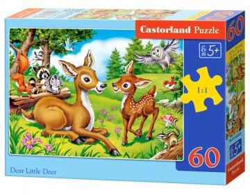 Dear Little Deer - Puzzle - 60 Teilig · CAS 066049 ·  Castorland