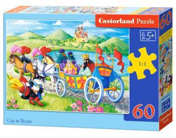 Cat in Boots - Puzzle - 60 Teile · CAS 066070 ·  Castorland
