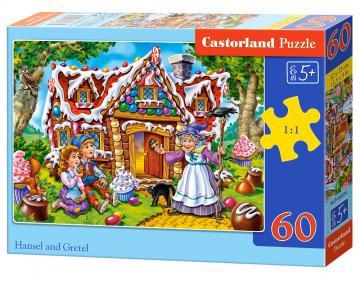 Hansel and Gretel - Puzzle - 60 Teile · CAS 066094 ·  Castorland