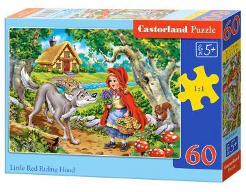 Little Red Riding Hood - Puzzle - 60 Teile · CAS 066117 ·  Castorland