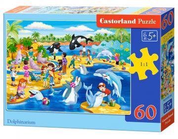Dolphinarium - Puzzle - 60 Teile · CAS 066148 ·  Castorland