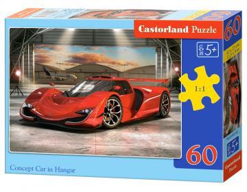 Concept Car in Hangar - Puzzle - 60 Teile · CAS 066162 ·  Castorland