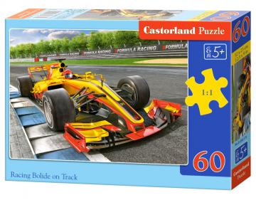 Racing Bolide on Track - Puzzle - 60 Teile · CAS 066179 ·  Castorland