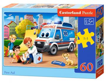 First Aid - Puzzle - 60 Teile · CAS 066193 ·  Castorland
