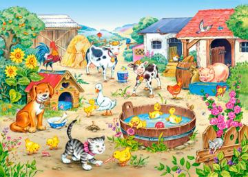 Farm - Puzzle - 60 Teile · CAS 066631 ·  Castorland
