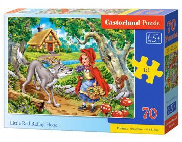 Little Red Riding Hood - Puzzle - 70 Teile · CAS 070015 ·  Castorland