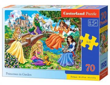 Princesses in Garden - Puzzle - 70 Teile · CAS 070022 ·  Castorland