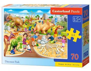 Dinosaur Park - Puzzle - 70 Teile · CAS 070046 ·  Castorland