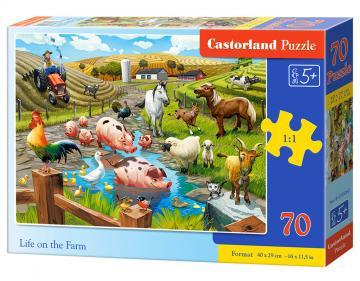 Life on the Farm - Puzzle - 70 Teile · CAS 070060 ·  Castorland