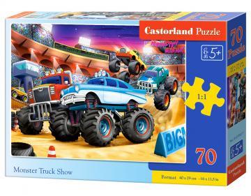 Monster Truck Show - Puzzle - 70 Teile · CAS 070077 ·  Castorland