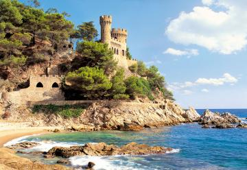 Lloret de Mar, Spain, Puzzle 1000 Teile · CAS 1007742 ·  Castorland