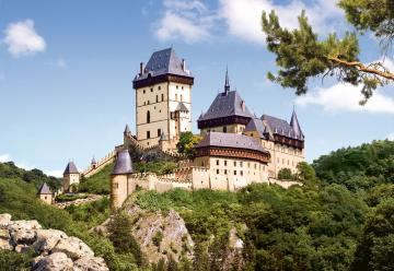 Karlstein Castle,Czech Repub.Puzzle 1000 · CAS 1014982 ·  Castorland