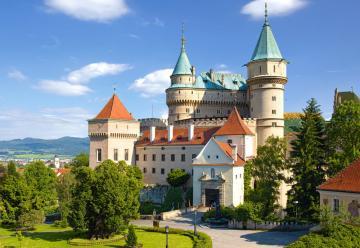 Bojnice Castle,Slovakia,Puzzle 1000 Teil · CAS 1021502 ·  Castorland