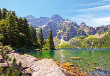 Morskie Oko lake,Tatras,Polan,Puzzle1000 · CAS 1022352 ·  Castorland